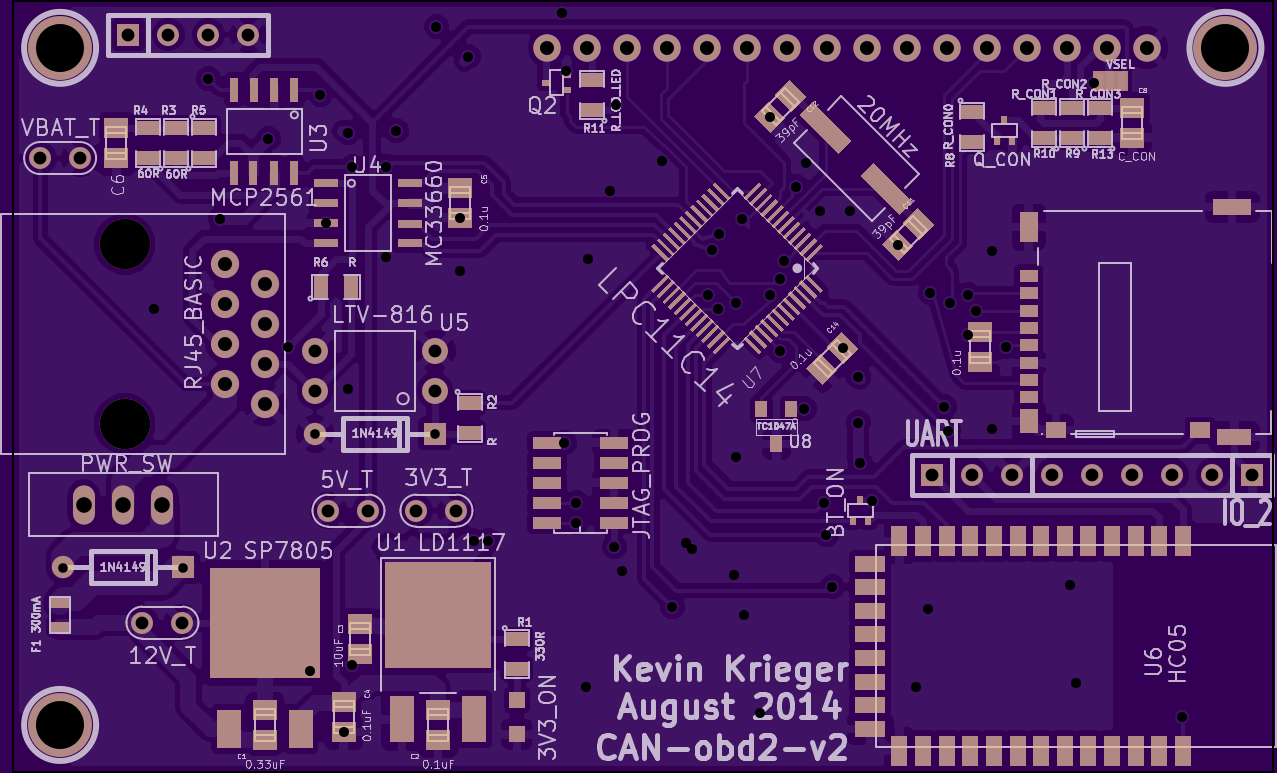 Project | CAN-obd2 | Hackaday.io