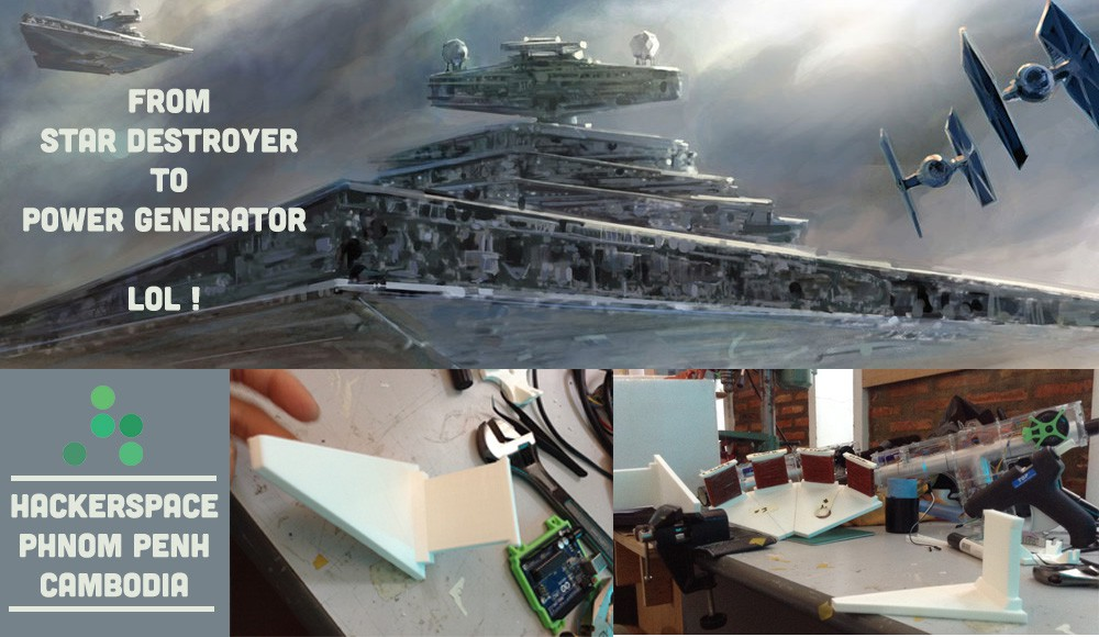 FROM STAR DESTROYER TO POWER GENDERATOR | Details | Hackaday io