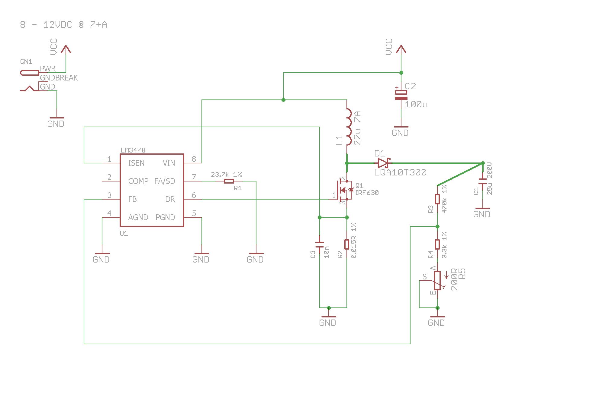 a boost converter design