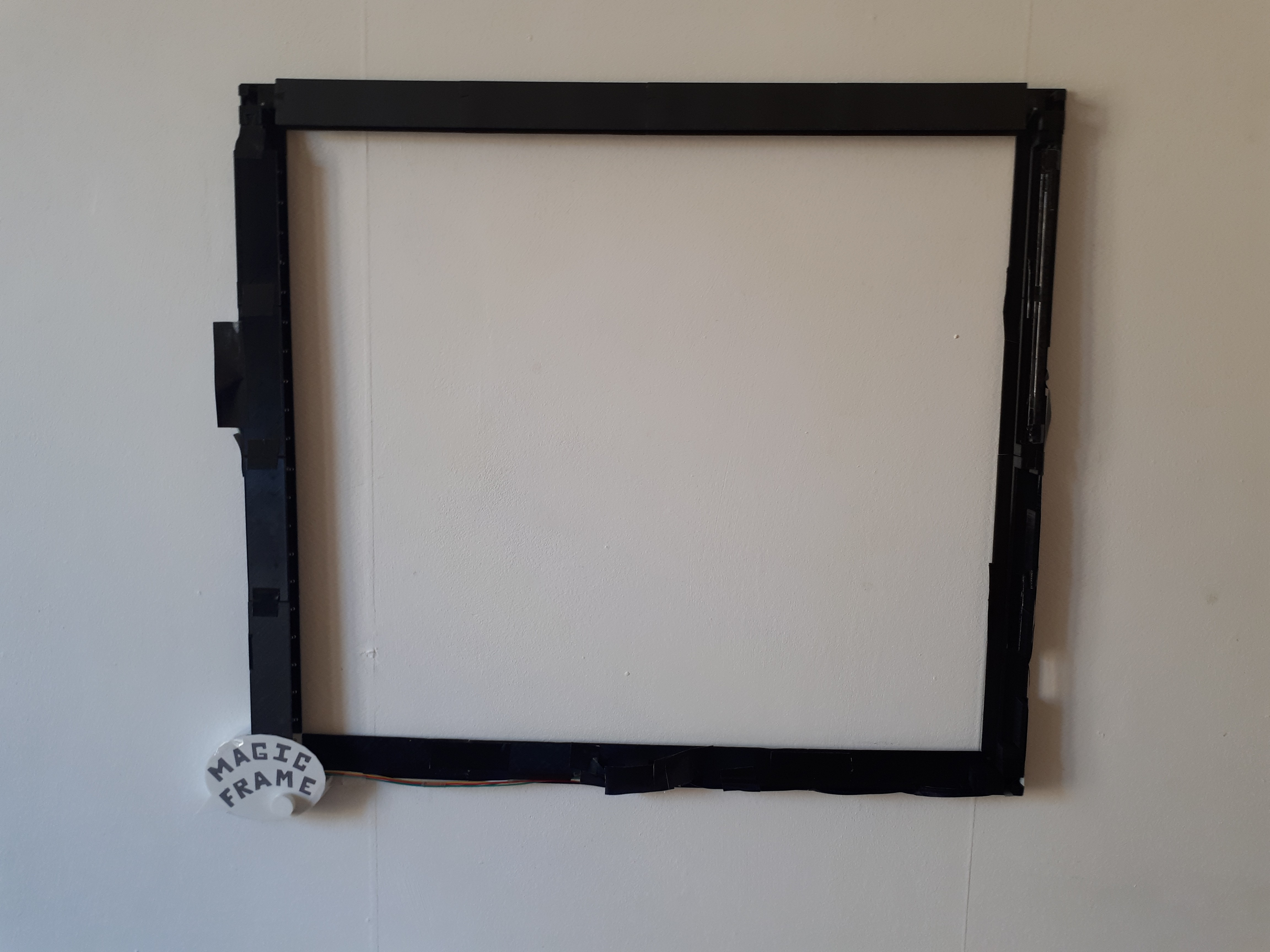 Magic Frame Turn Everything into a Touch Area