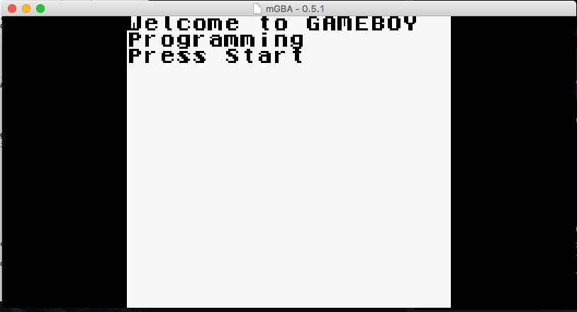 programming Game Boy games on a Mac in 2016 | Details