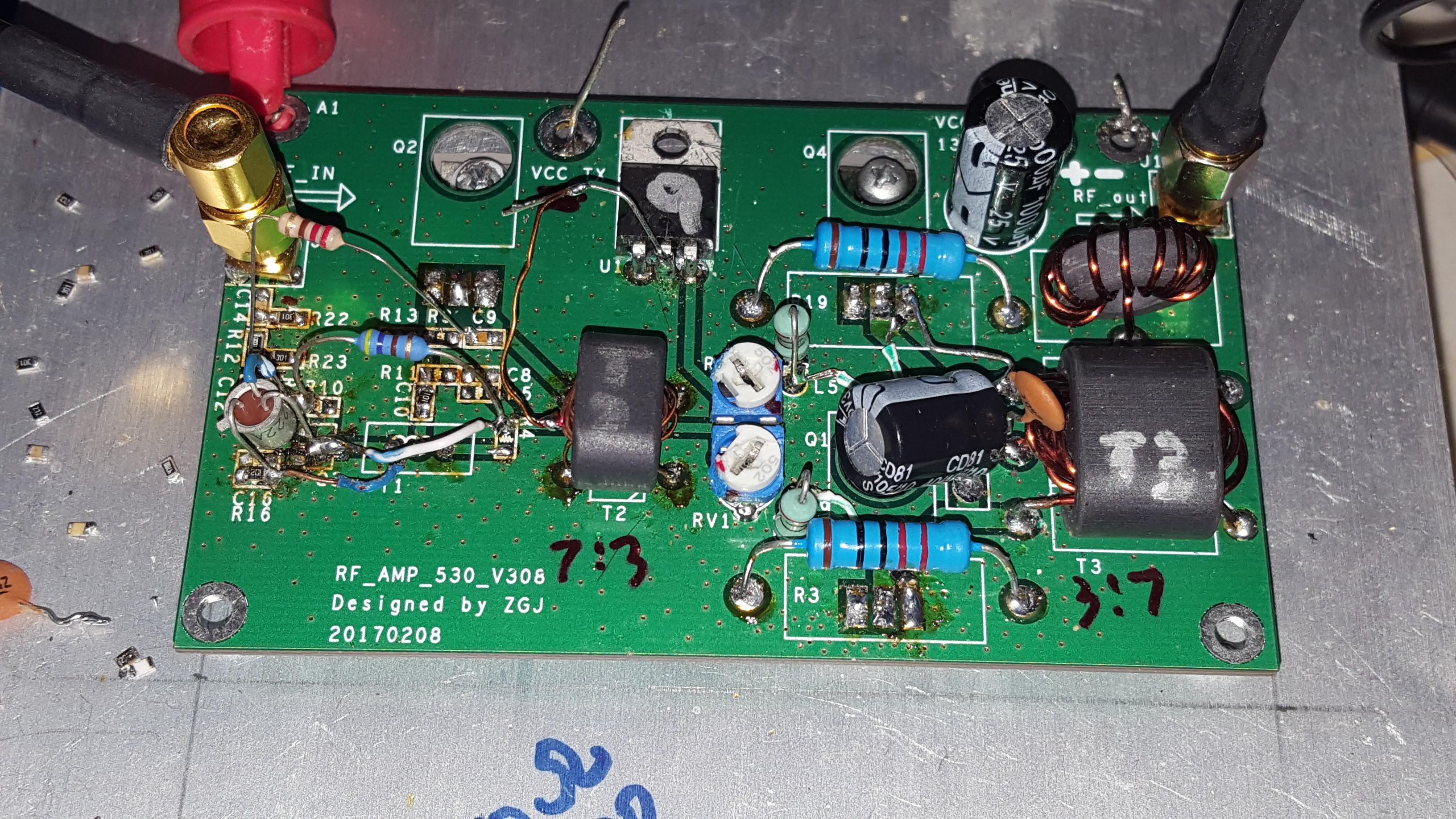 45W RF SSB CW AMP (EBAY) DIY Build = 55W Upgrade | Hackaday io
