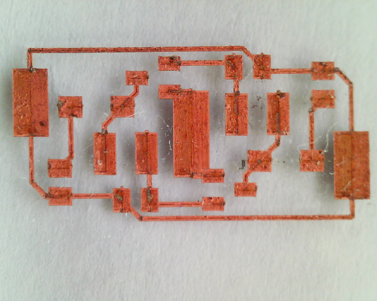 Printed Circuit Boards Board Module Pcb Dishwasher Main Substrate Polyimide Kapton On Glass Microscope Slide Precursor Saturated Copperii Formate Solution Process Detergent As Wetting Agent