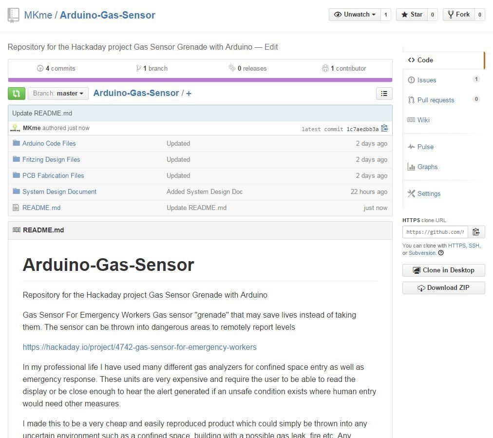 Gas Sensor For Emergency Workers | Hackaday io