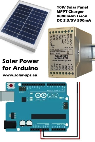 Solar Power for Arduino! | Details | Hackaday io
