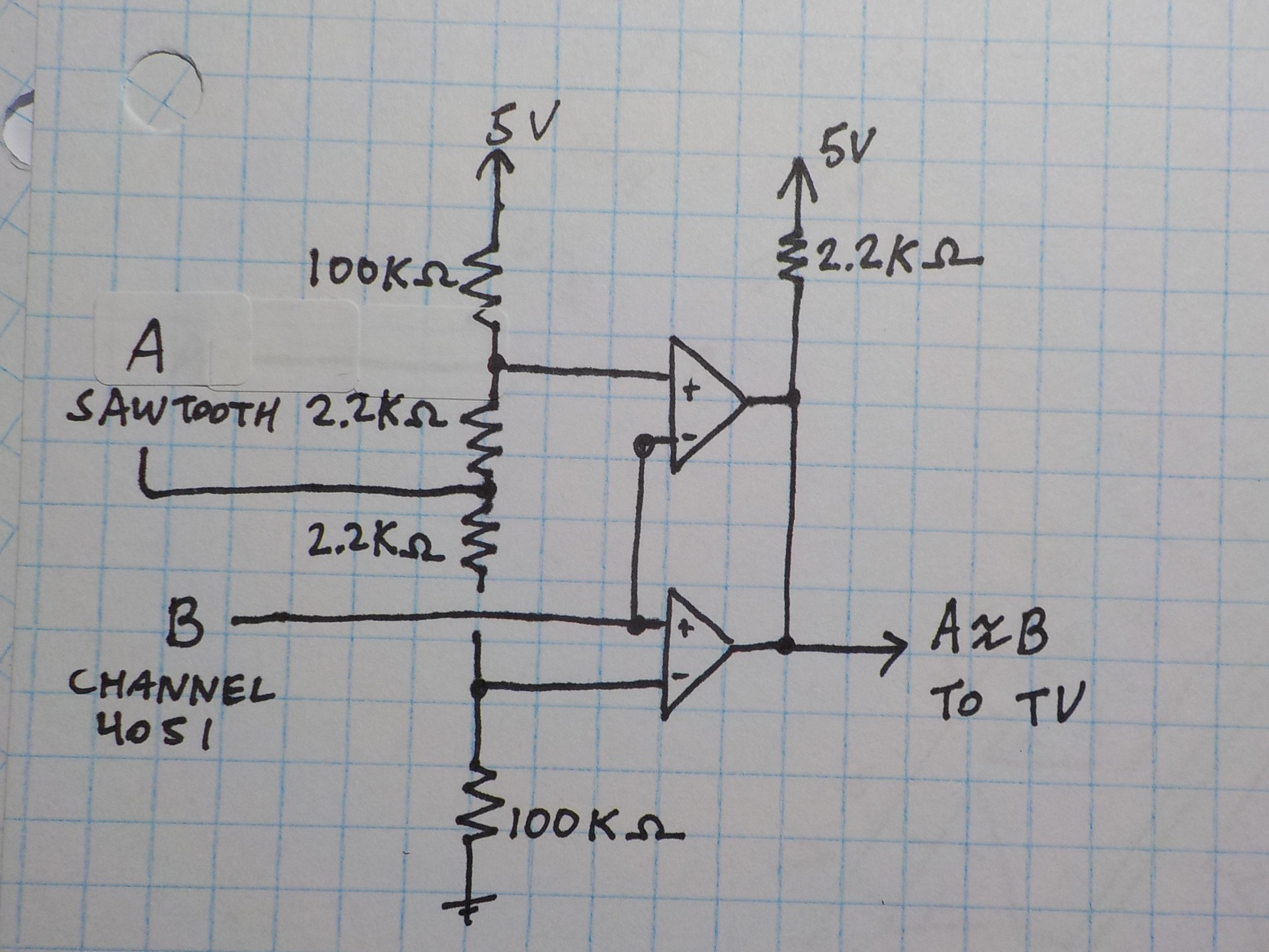 Project Zappotron Super Sequencer Logic Diagram For 2 Bit Demultiplexer Lm339 Has Open Collector Outputs Meaning 1 Is High Impedance This Means An And Gate Can Be Formed By Connecting The Directly Together