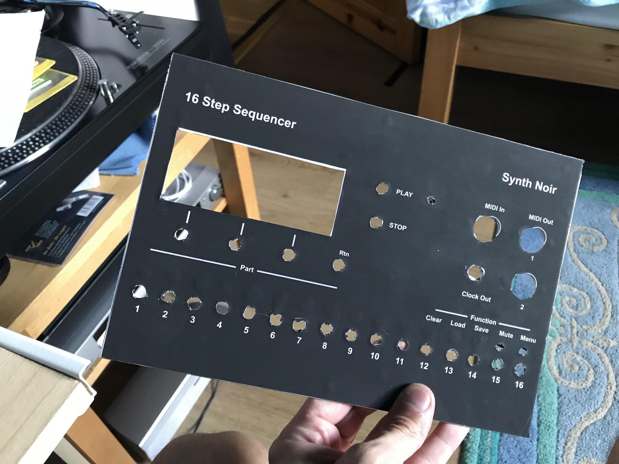 16 step MIDI sequencer | Hackaday io