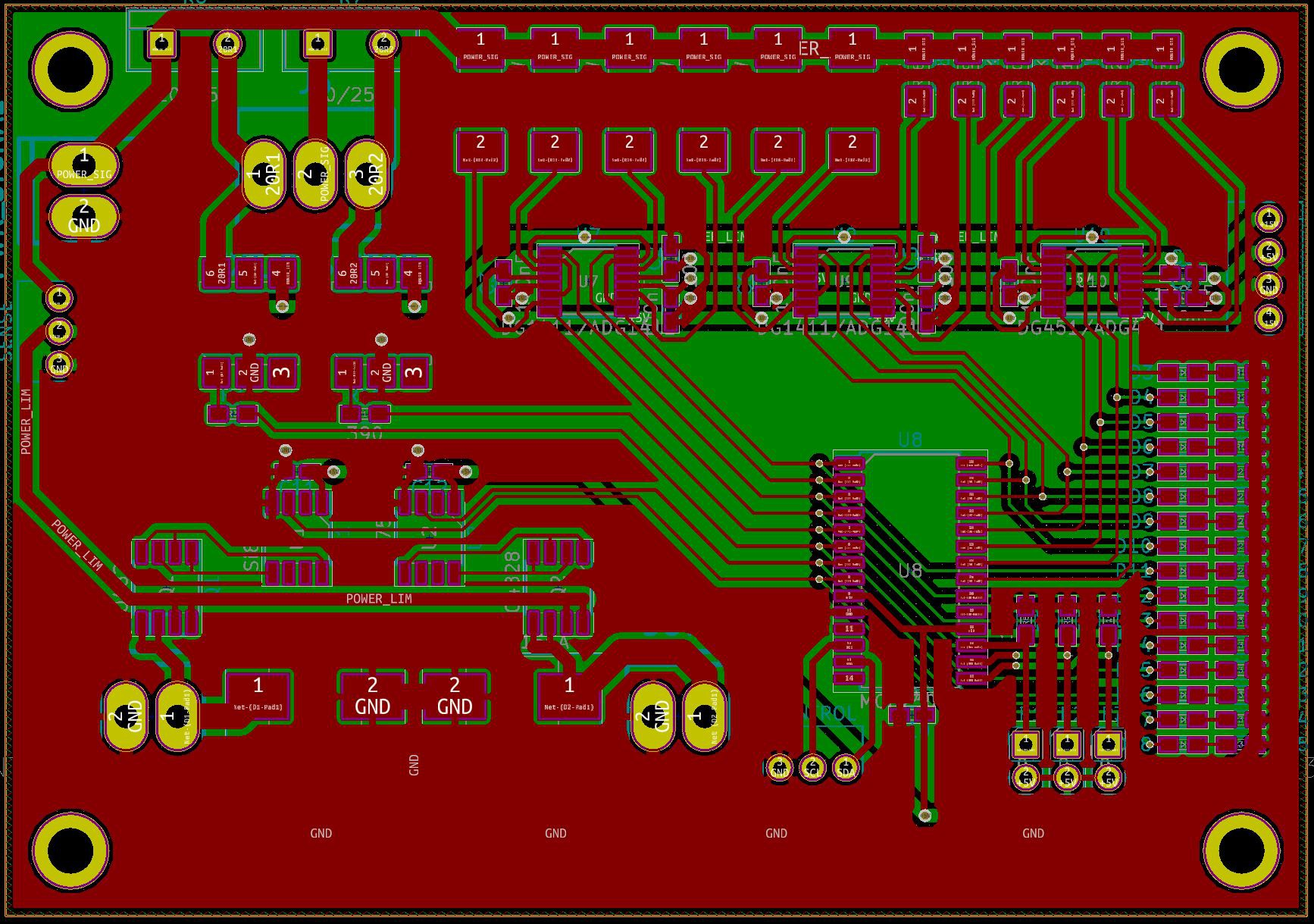 Microcontroller Based Curve Tracer Instrument Cluster Circuit Board Is Bad 1000 Bucks Page 4 Ive Finished The Pcb Design All Of Three Analog Boards Together With Psu Here Are Pictures Designs