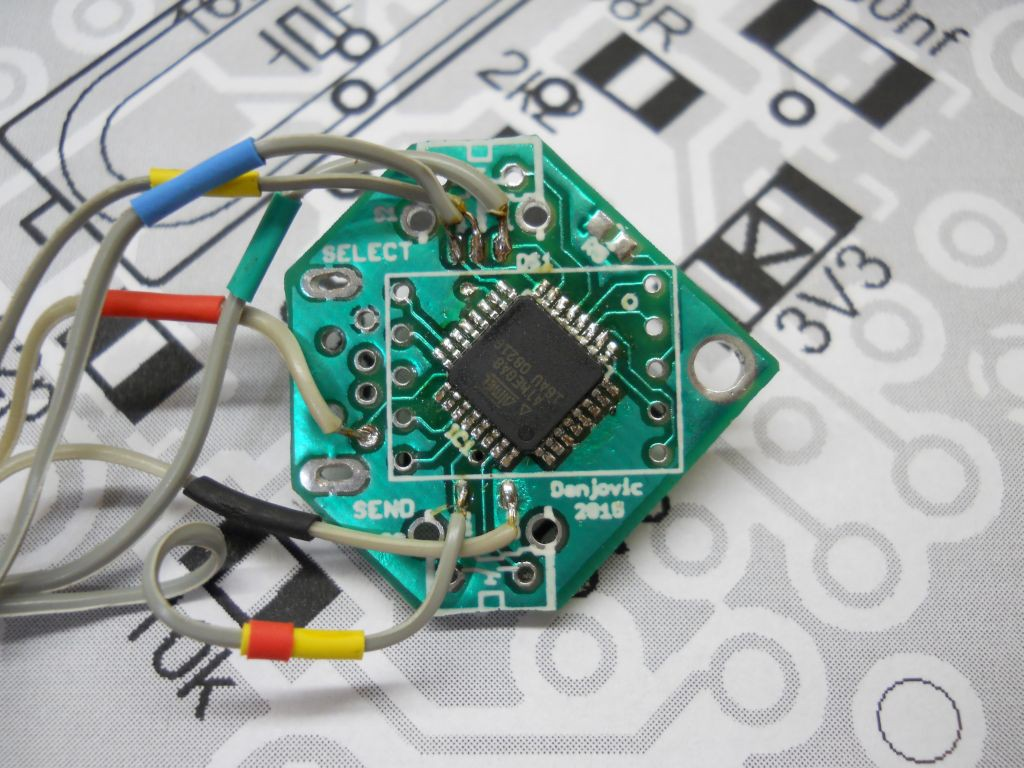 Key Pass Atmel Avr Programmer Usb Circuit Atmega8 Isp Programlayici Then Connect The To An This Procedure Assumes Is Compatible With Usbasp But Other Programmers Can Be Used