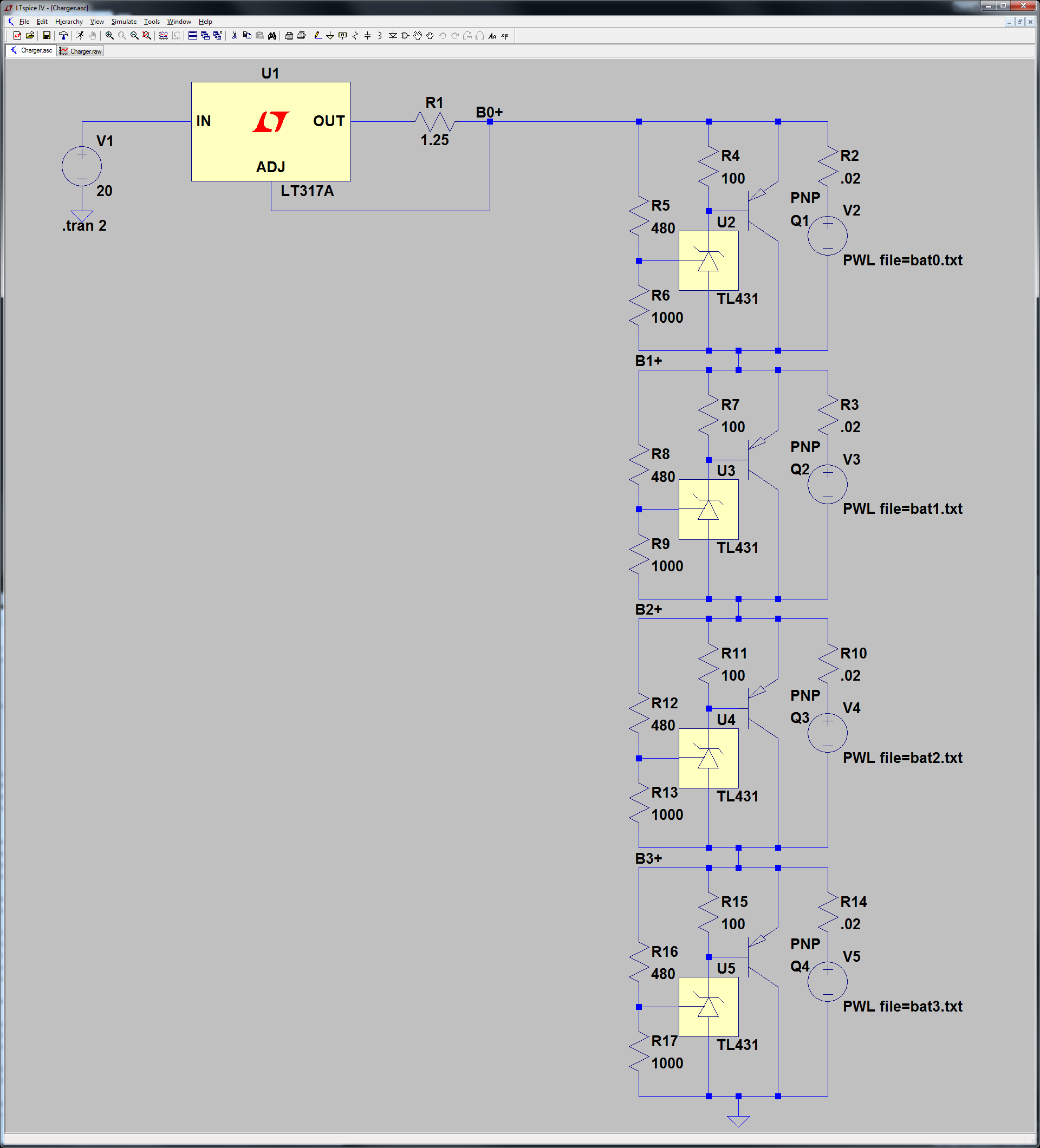Battery Charger Circuit | Details | Hackaday io