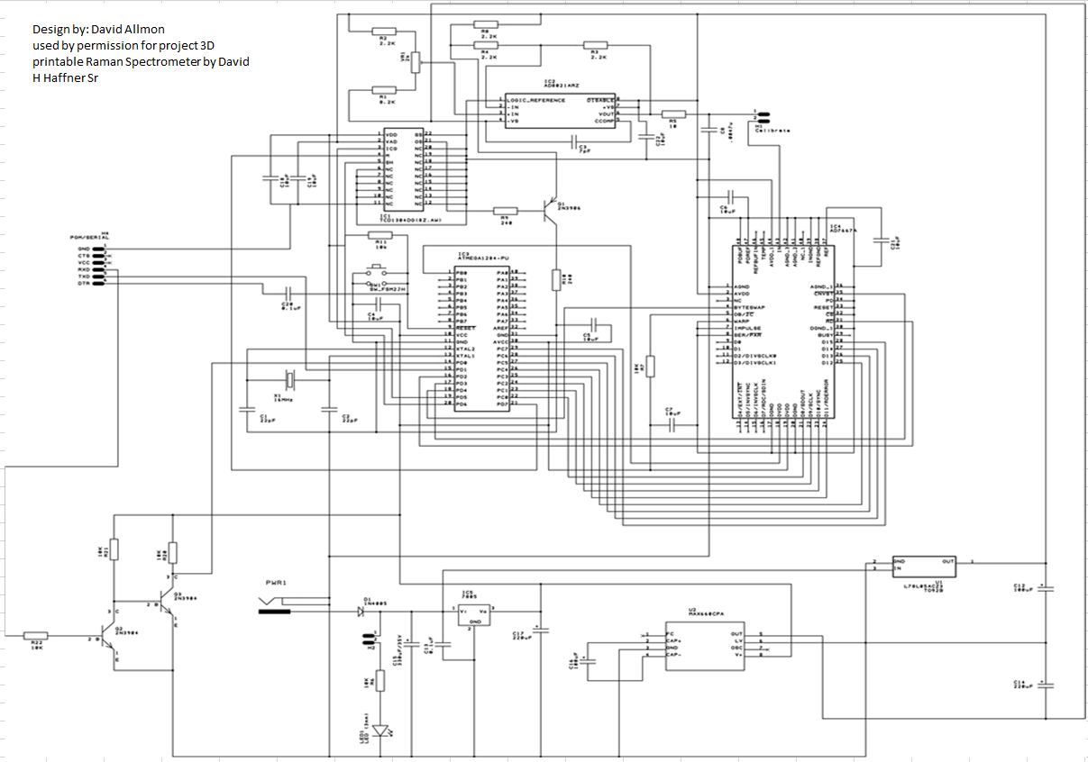 updated schematics   for ccd driver circuit  bom   3d