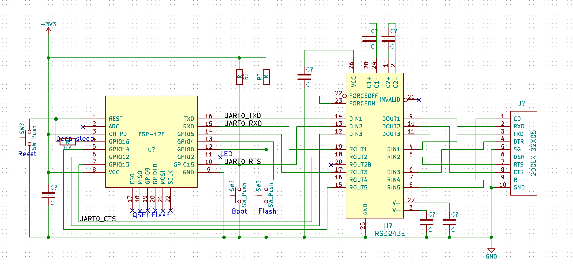 200lx Modules Googling Around I Find Schematics Like This Need Also To Drop In The Ldo But Create Kicad Part For That And Too Tried Now Such Things