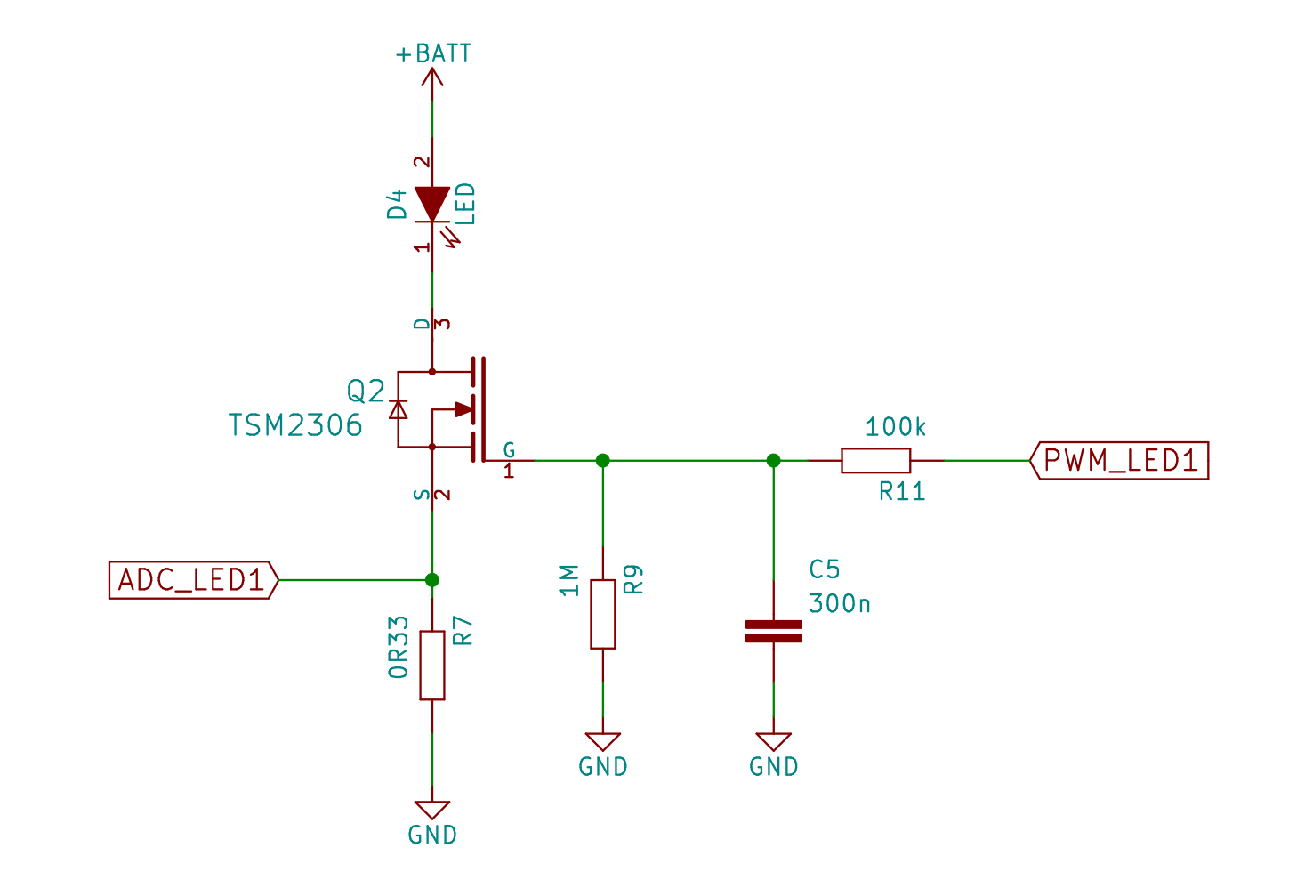 Project Lys Bright Battery Cell Led Driver Circuit Schematic Now That We Can Control The Current Need To Get Some Sort Of Feedback Into Our System By Placing A Sense Resistor In Path And Measure