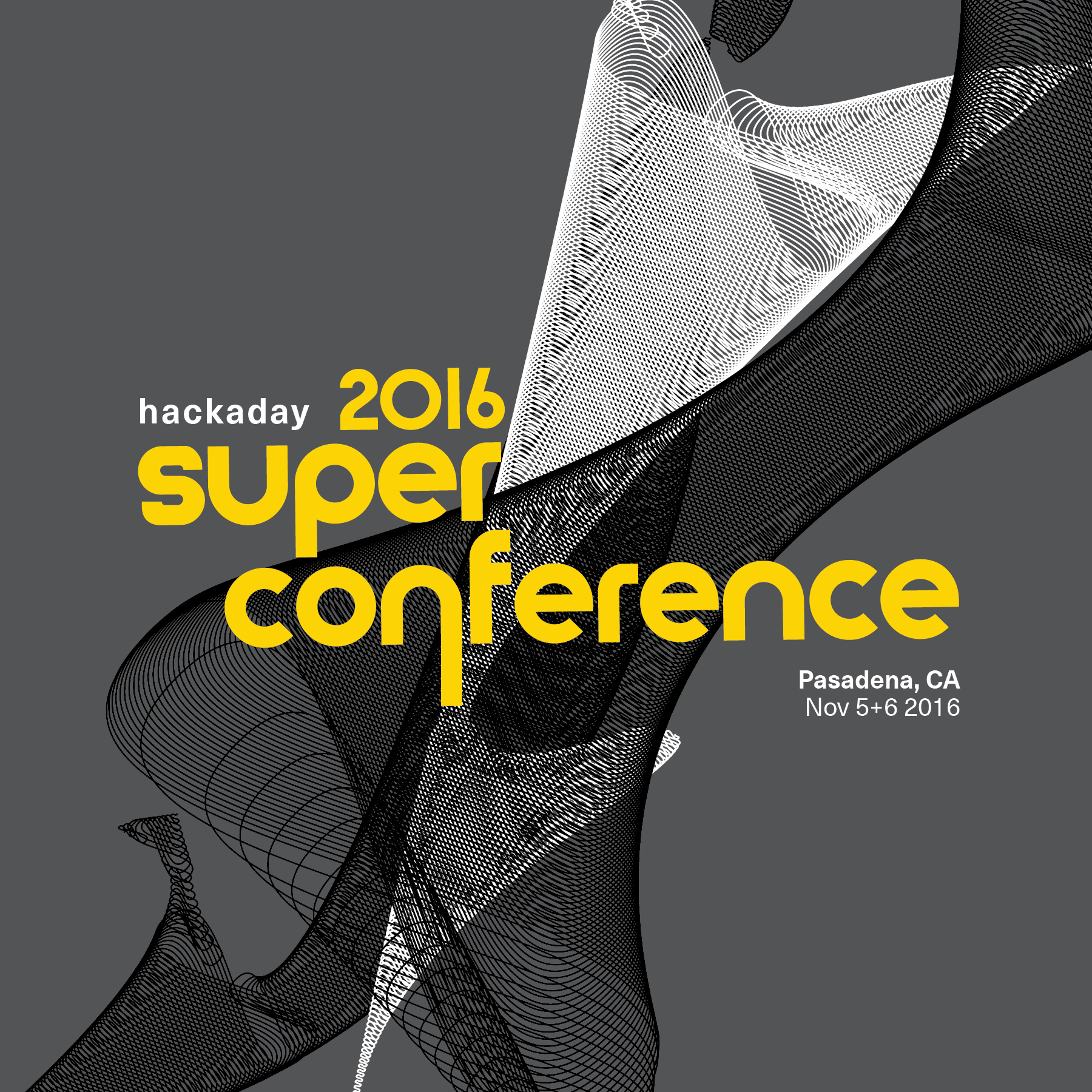 2016 Hackaday Superconference Flyer