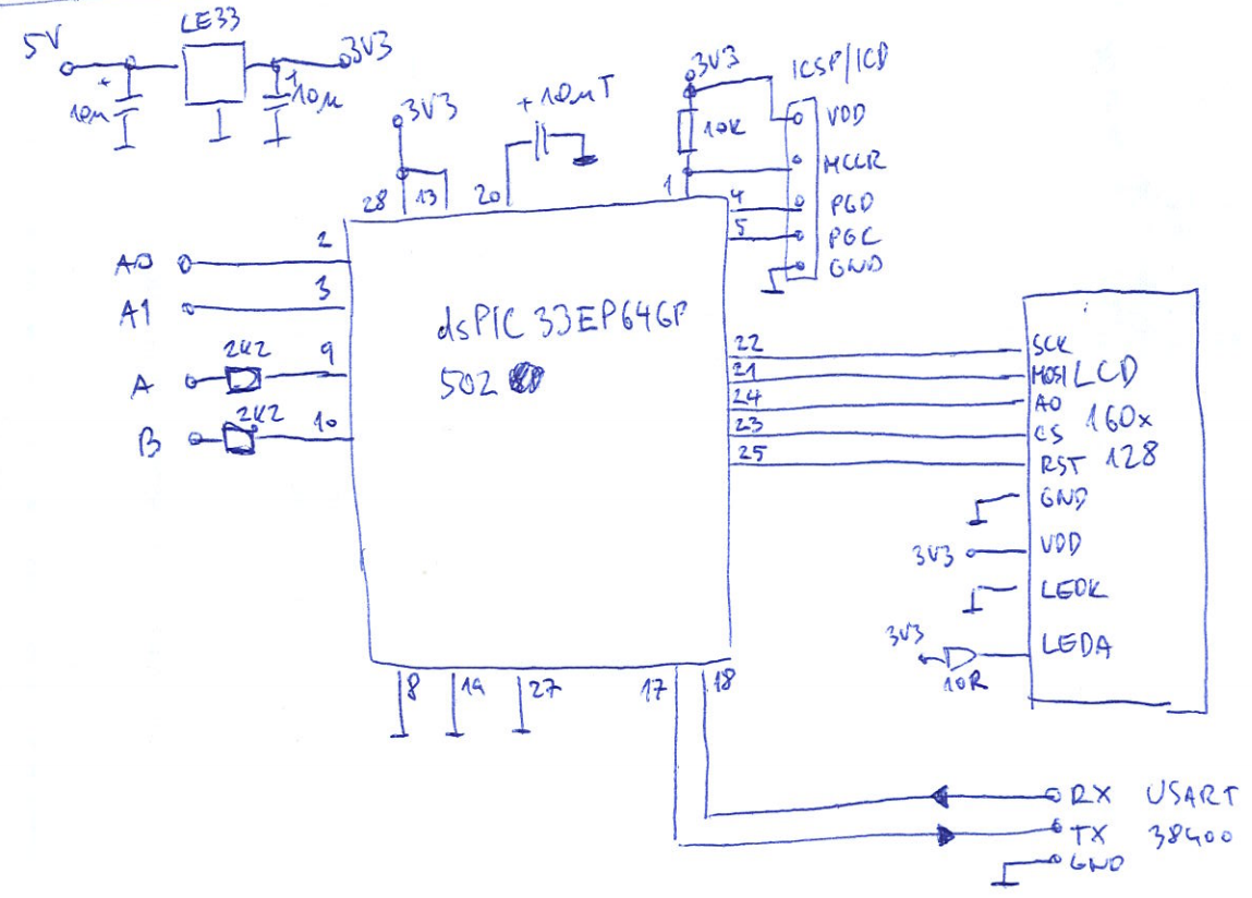 10 Curve Tracer Build A Circuit Diagram Electronic Circuits There Is Not Much More Than Mcu And Display