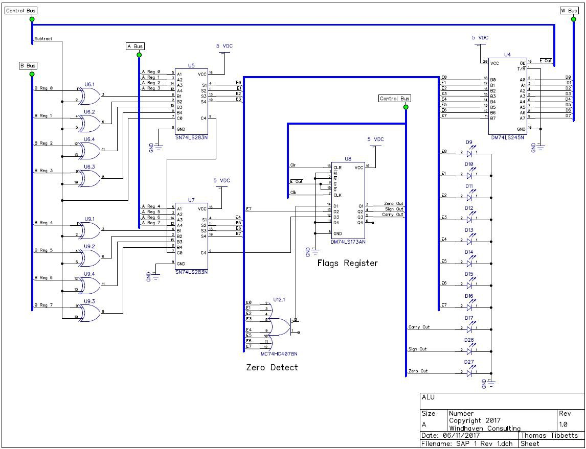 sap 1 circuit diagram circuit diagram 1 3 1 0 sap 1 computer on printed circuit boards | hackaday.io #7