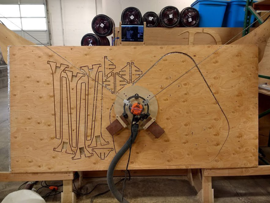 Gallery Maslow Cnc Router Hackaday Io