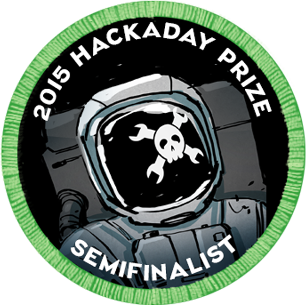 2015 Hackaday Prize Semifinalist