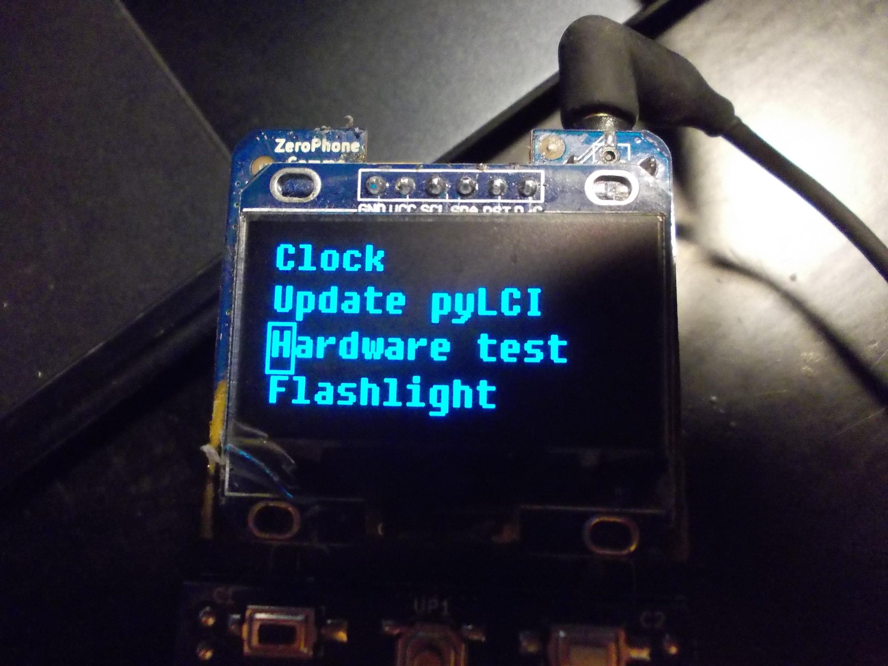Project | ZeroPhone - a Raspberry Pi smartphone | Hackaday io