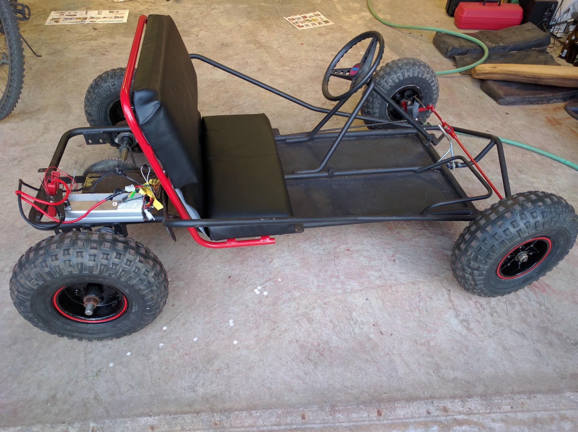 E-Kart: The electric Go Kart | Details | Hackaday.io