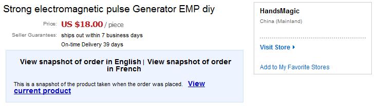 EMP Generator | Hackaday io