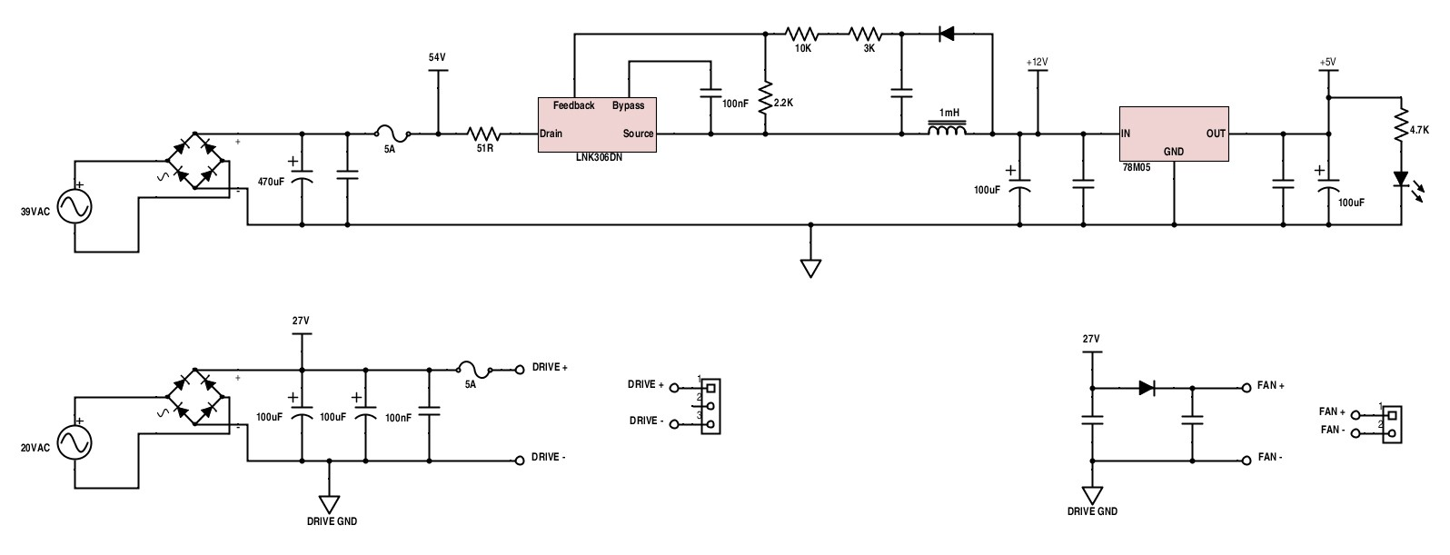 3040 Cnc Milling Machine Mods Power Wiring Diagram Supplies And Fan Output