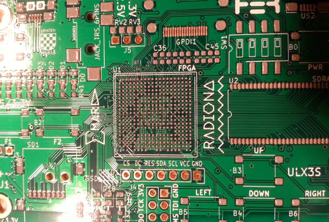 ULX3S powerful ECP5 board for open source FPGA   Hackaday io