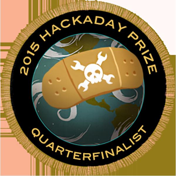 2015 Hackaday Prize Quarterfinalist
