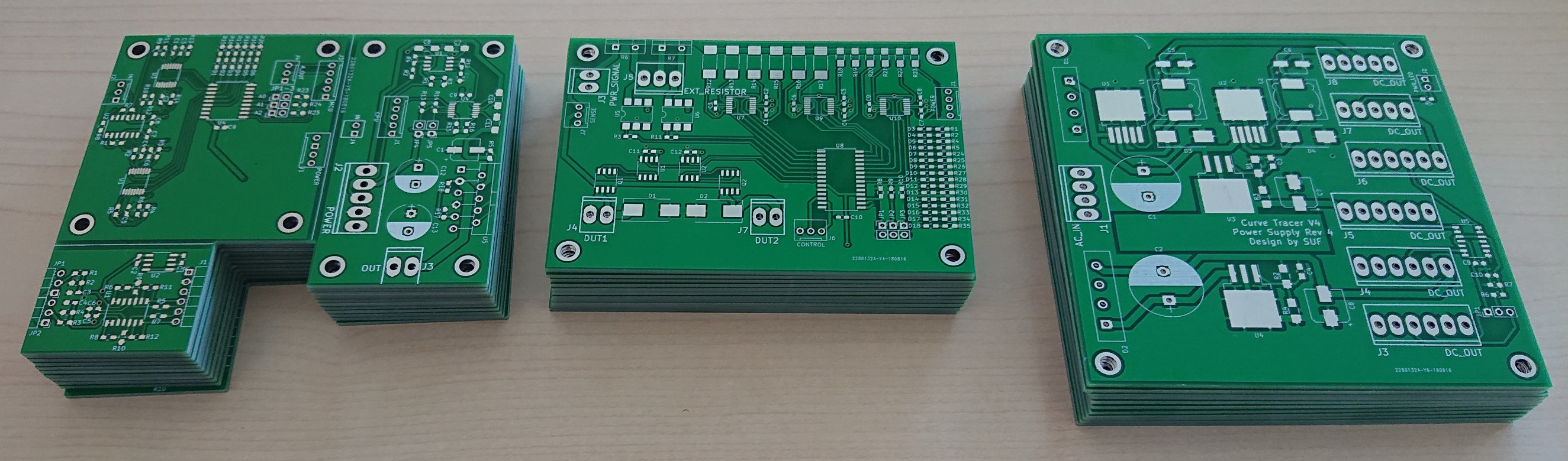 Microcontroller Based Curve Tracer Tester Electronics Forum Circuits Projects And Microcontrollers Arrived Boards