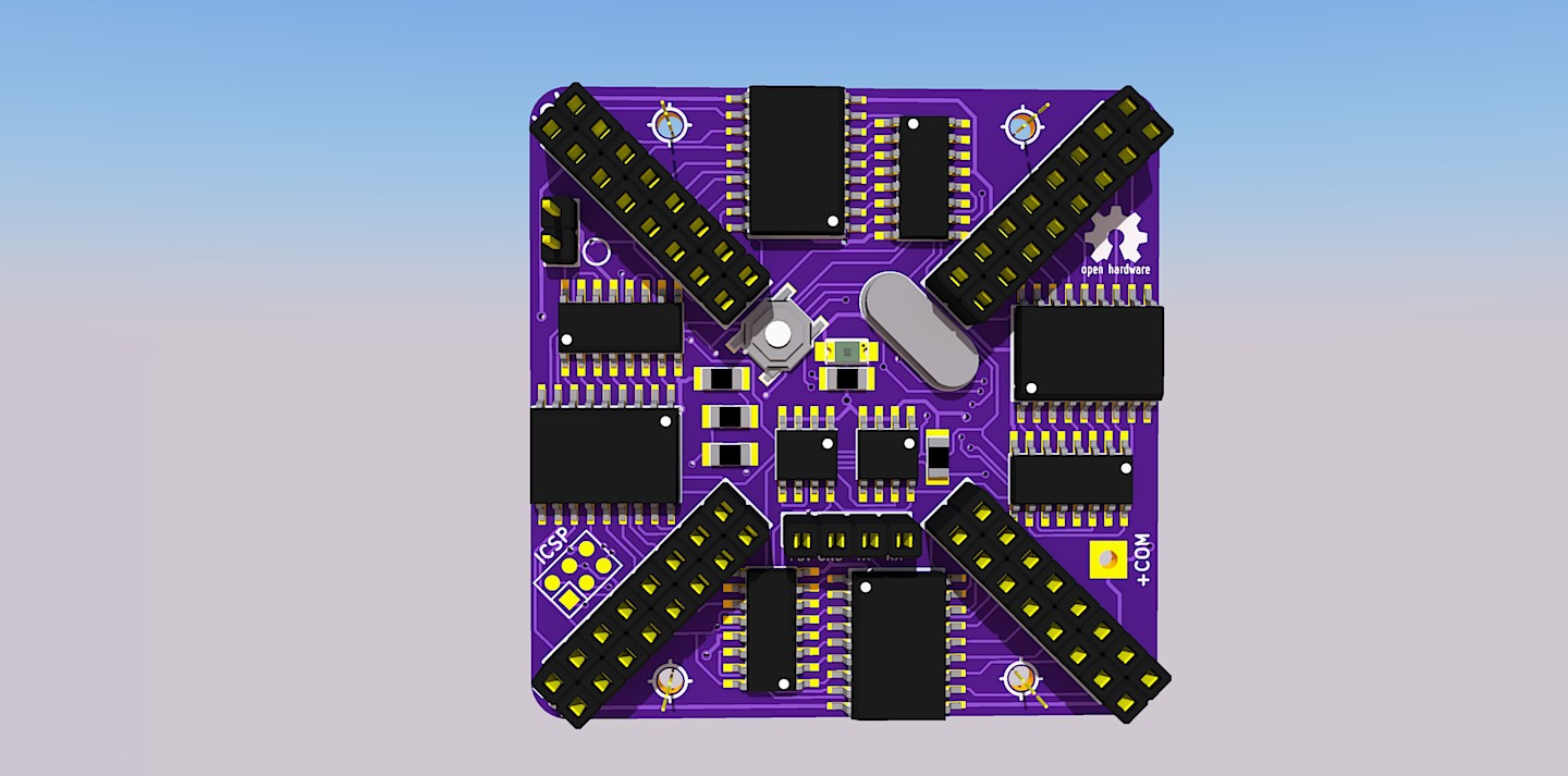 When This Project Is Completed All The Information Will Be Available For Construction Of Custom Pads And Boards Compatible With Api