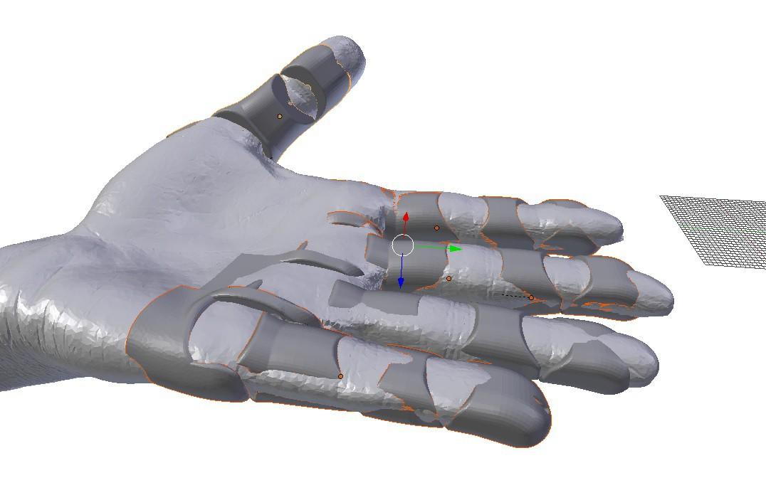 3D Scan to Custom Soft Prosthetic Hand   Hackaday io