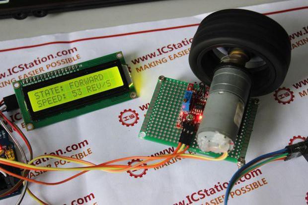 DC Motor Speed Testing Using Arduino - Hashdoc