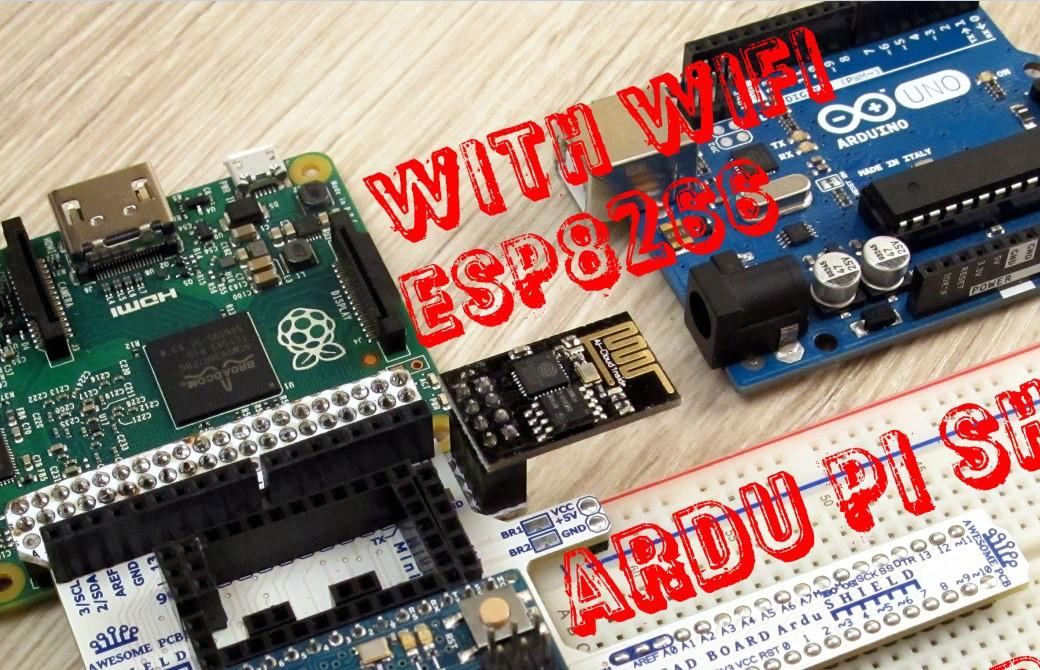 IoT_ArduPiShield_RaspberryPi_Arduino_AwesomePCB_ESP8266_Wi-Fi_SHIELD