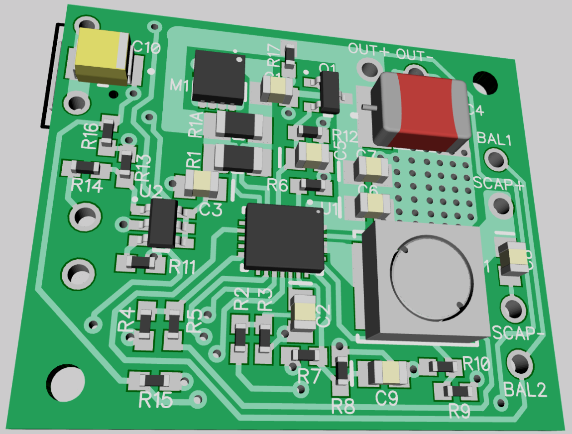 Single Supercapacitor Ups For Raspberry Pi Small Uninterruptible Power Supply Circuit The Input Output Pads Are Arranged To Accommodate 35mm Terminal Blocks So That All Of Connections Dont Require Soldering