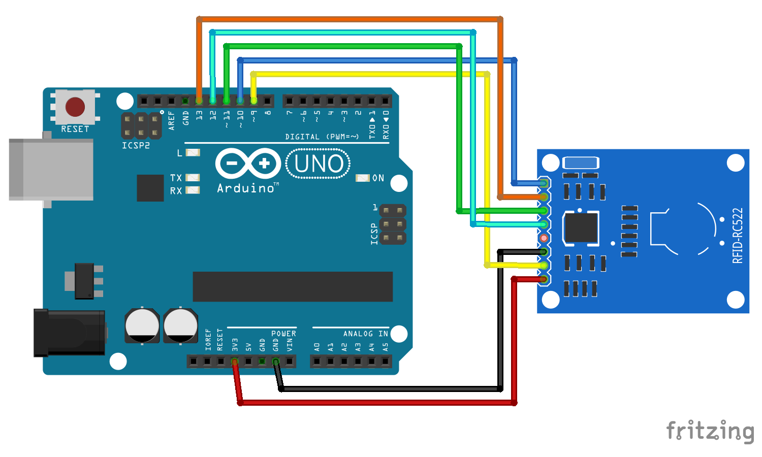 Attendance System Based on Arduino & Google Sheets | Hackaday io