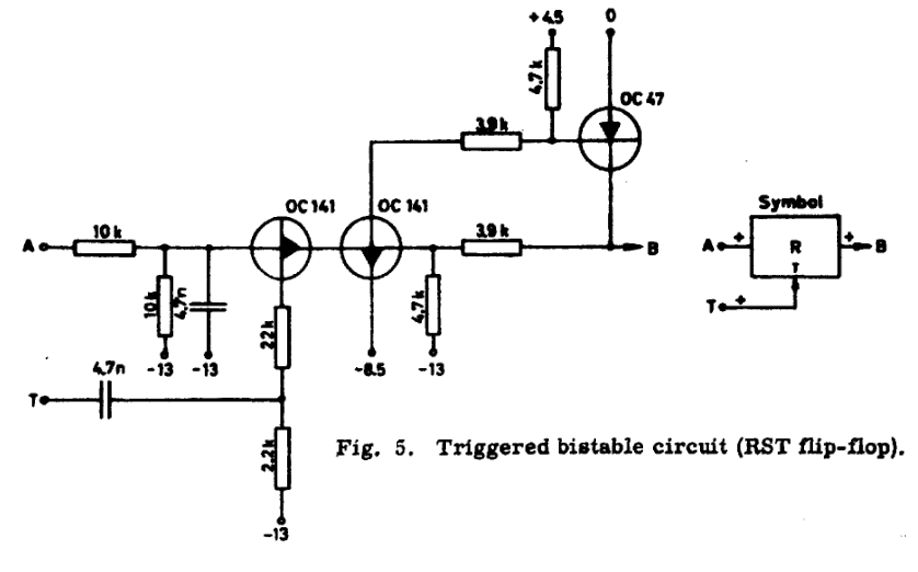 Another Interesting Bjt Dff Circuit Details Hackaday