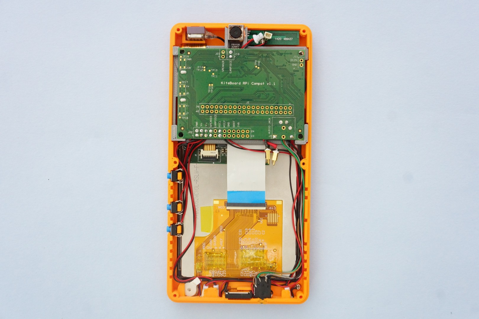 Project Kite Open Hardware Android Smartphone Handy Multimeter From College And Tested All Wire Combination Finally Insert The Wired Audio Socket In Its Designated Slot After Routing Wires Closer To Case We End Up With An Arrangement Similar