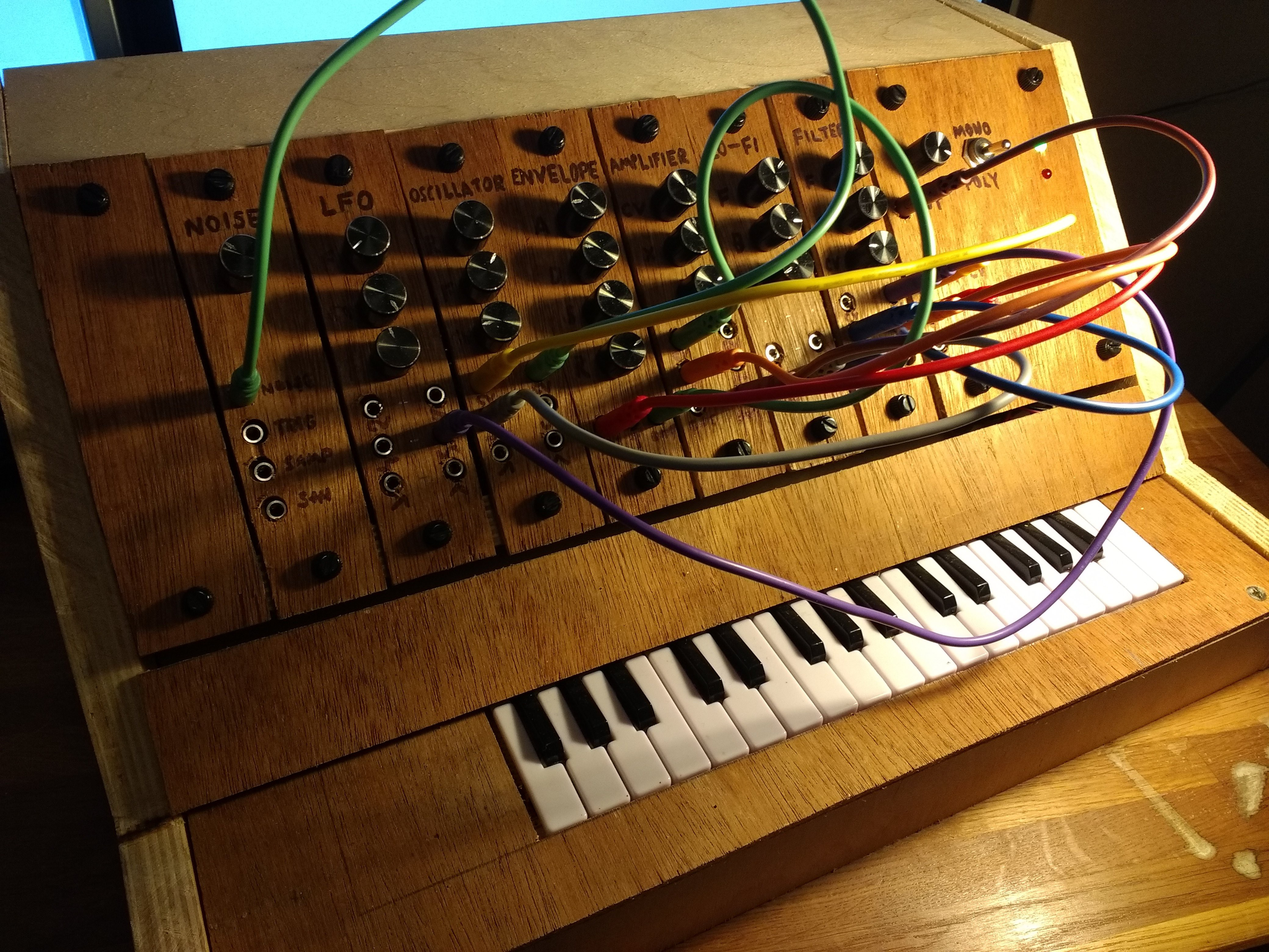 breadboard polyphonic synth tutorial details. Black Bedroom Furniture Sets. Home Design Ideas