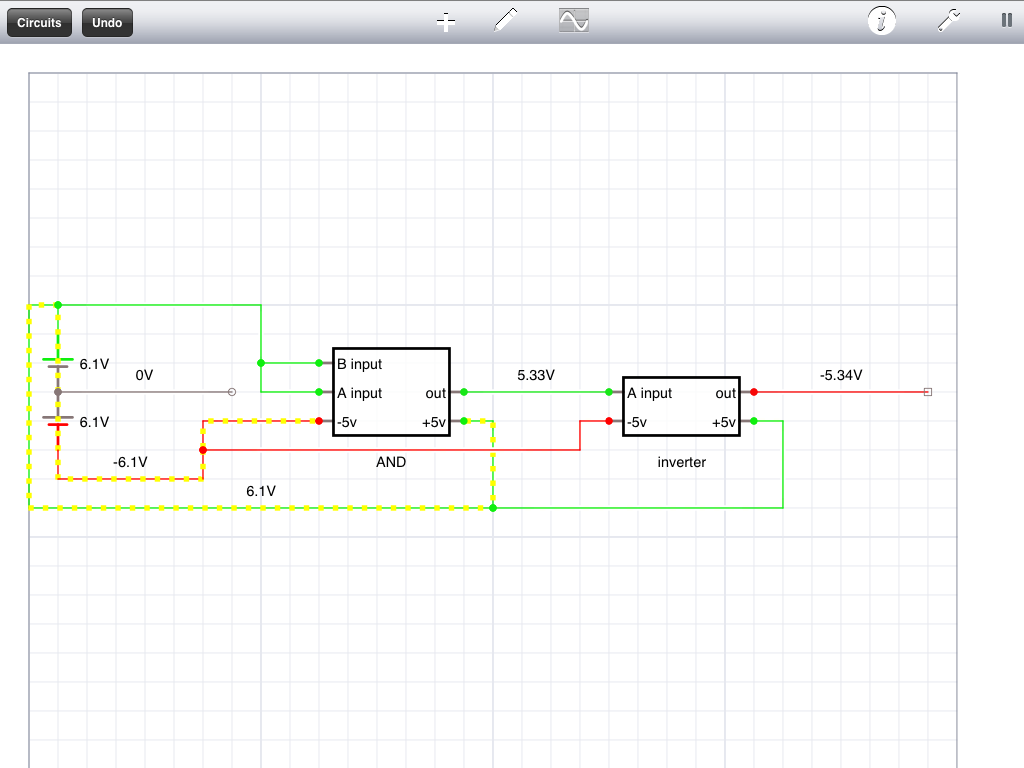 Base 3 Ternary Computer From Scratch Incredible Diy Simple 33v 5v Level Shifter I Just Set The Voltage To 6 Volts Account For Internal Loss Know It Says 61 But Using A Slider On An Ipad Isnt Exact Thing