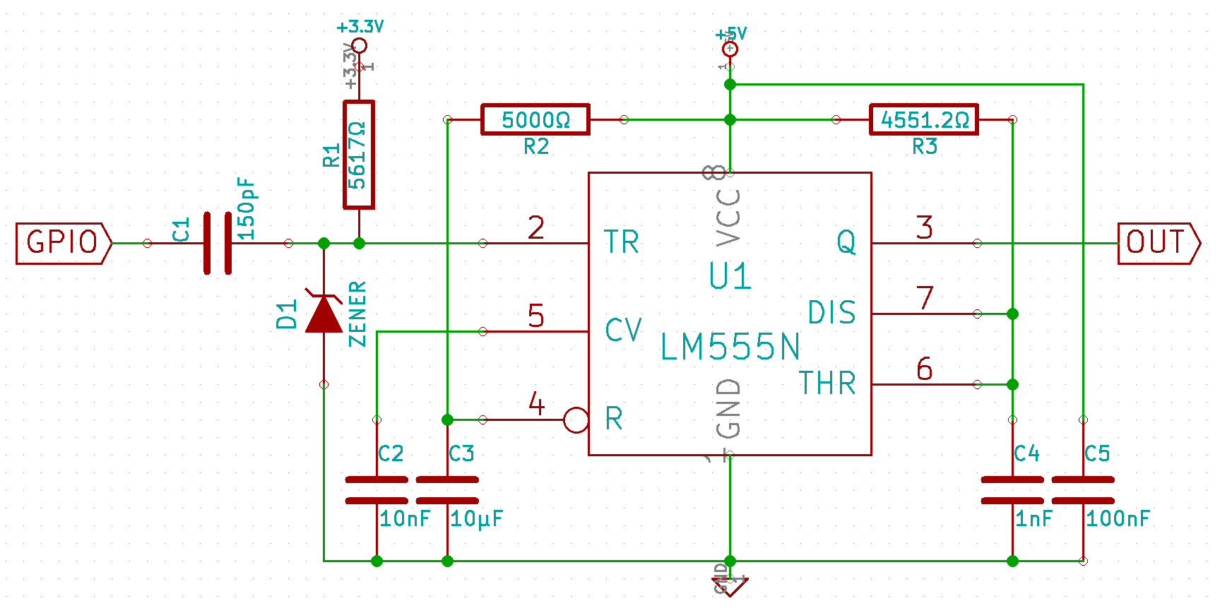 Prepare For Raspberry Pi Interaction Details Circuit Diagram Of Zener Diode D1 Is A 36v Protecting Against Overvoltage The Datasheet Tells That Trigger Pin 555 Gives Max 2a At 0v