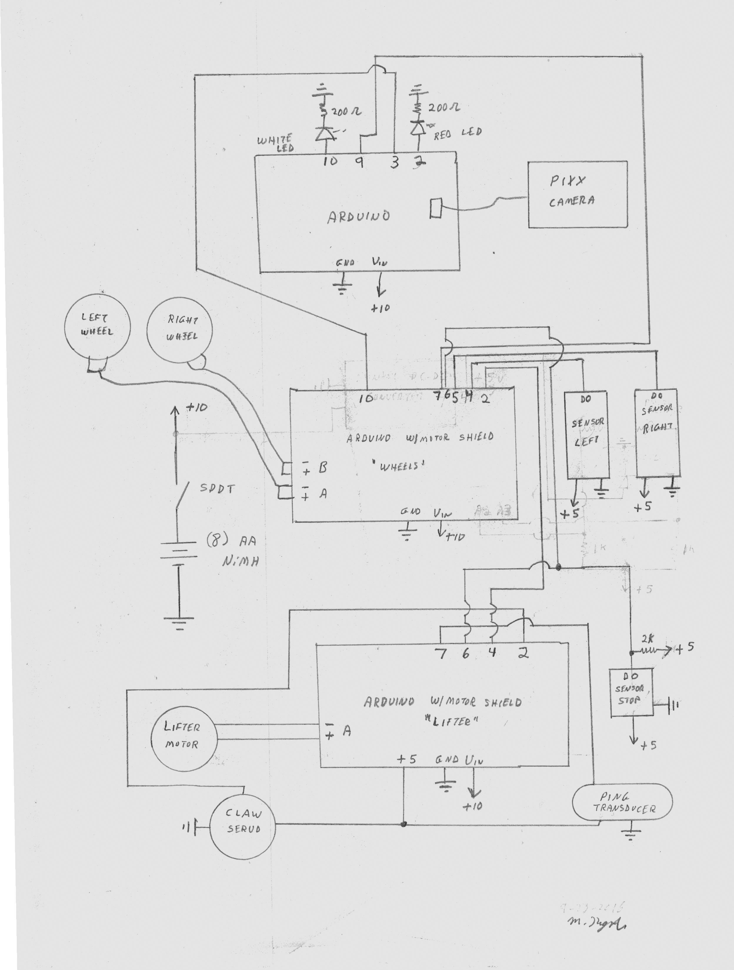 Pretty Useless Machine Catapult Engineering Schematics The Home Location And Sketch Changes Documented On This Site Modify Controls To Make Robot Perform Its Task Latest Schematic Is Below