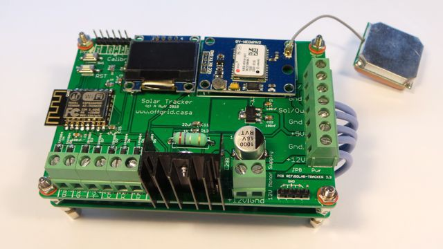 Solar Tracker, self powered and auto aligning | Hackaday io