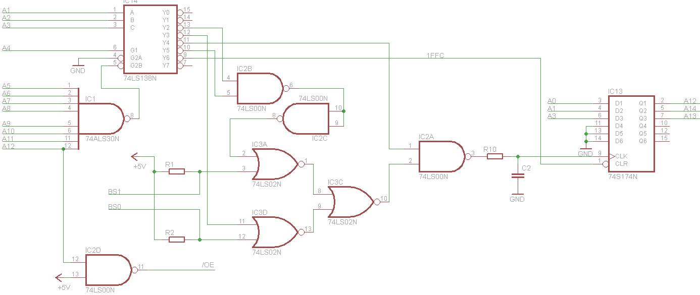 Atari 2600 Wiring Diagram Trusted Diagrams Bankswitch Cartridge Hackaday Io