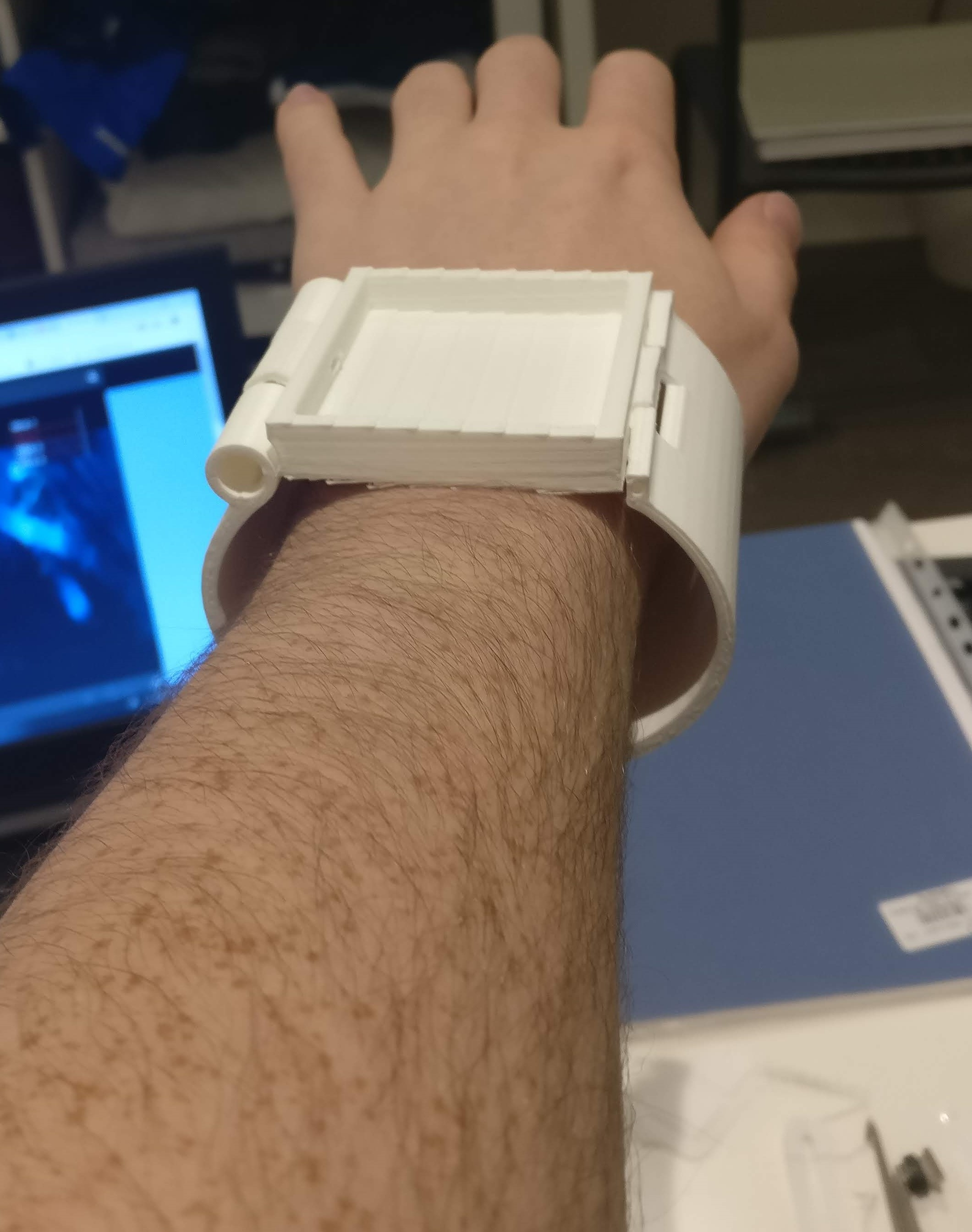 Project | Gesture Controlled Smartwatch | Hackaday io