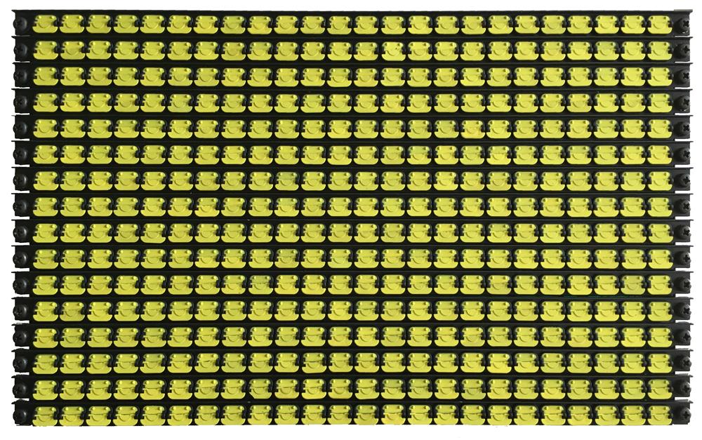 16×24 flip dots module