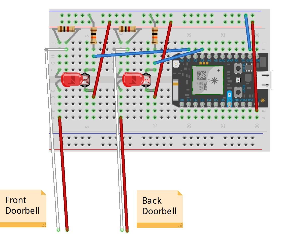 Doorbell Wiring Diagram Doorbell Circuit Diagrams