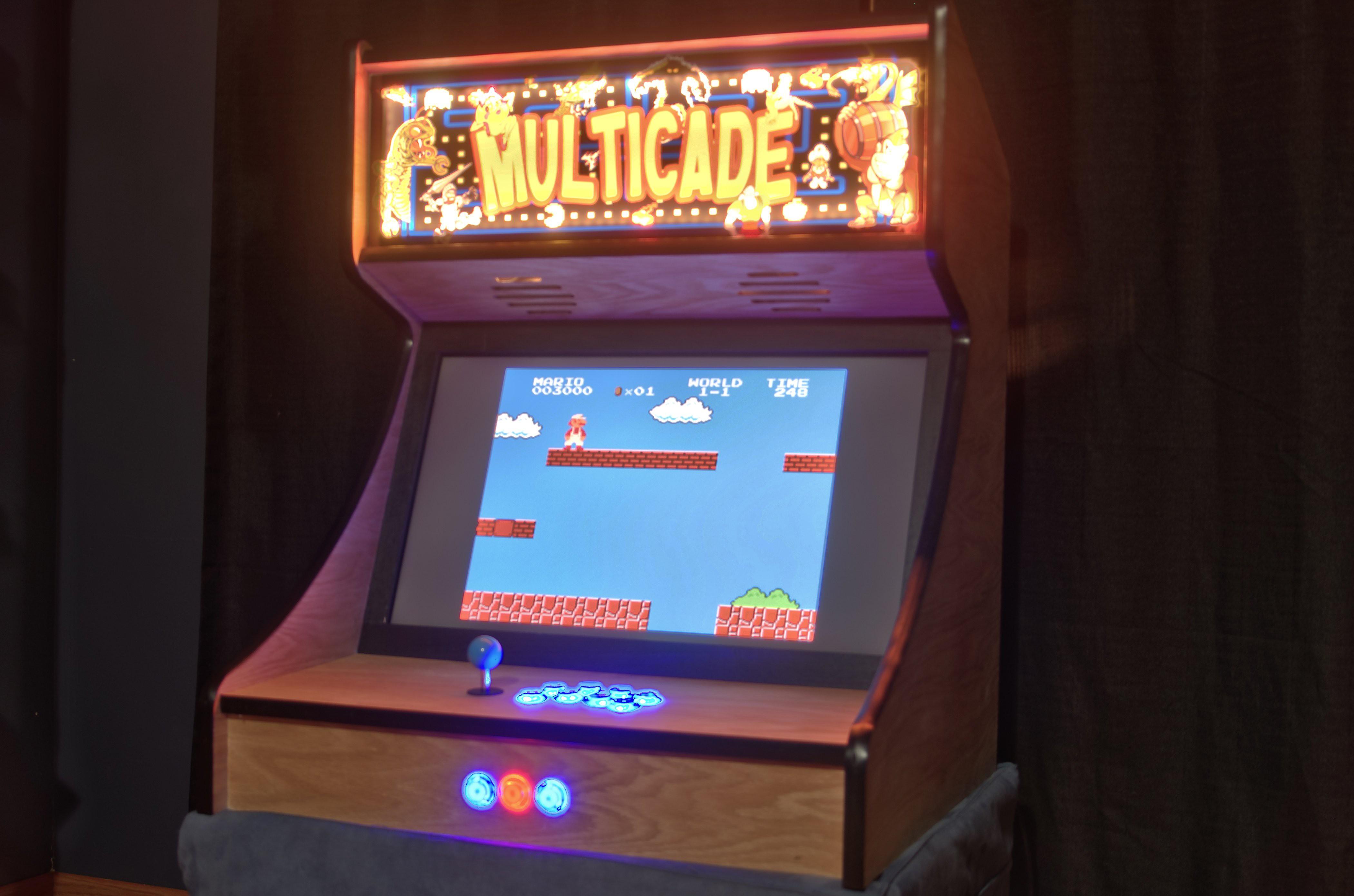 Gallery Tabletop Retropie Arcade Hackaday Io