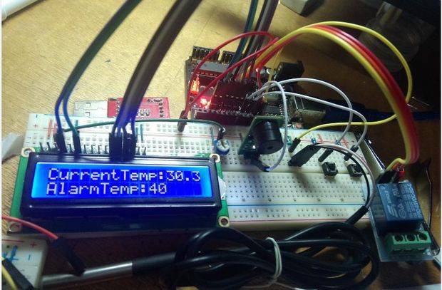 Temperature Detecting Heating Control System with | Hackaday io