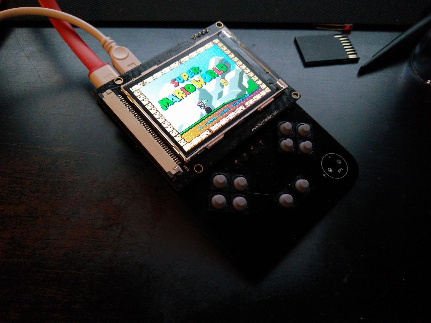 Gamegirl: the retro console done right | Hackaday io