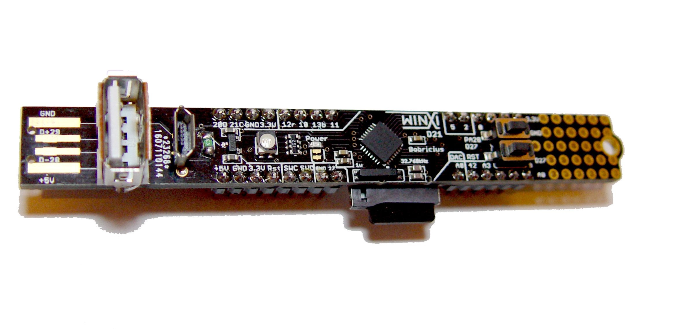 Winxi arduino zero pro m stick atsamd e hackaday